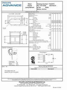 Advance T12 Ballast Wiring Diagram