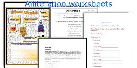 All Worksheets » Alliteration Worksheets  Printable Worksheets Guide For Children And Parents