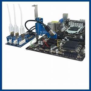 External  U0026 Internal 1 To 3 Pci Express 1x Slots Riser Card