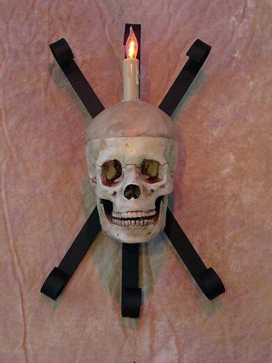 Skull Sconce - skull wall sconce no led human skulls ebay