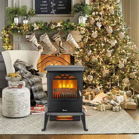 ktaxon 1500w small electric fireplace indoor free standing