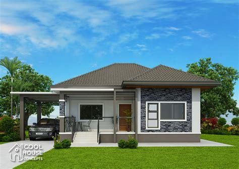 elevated bungalow house design  floor plan