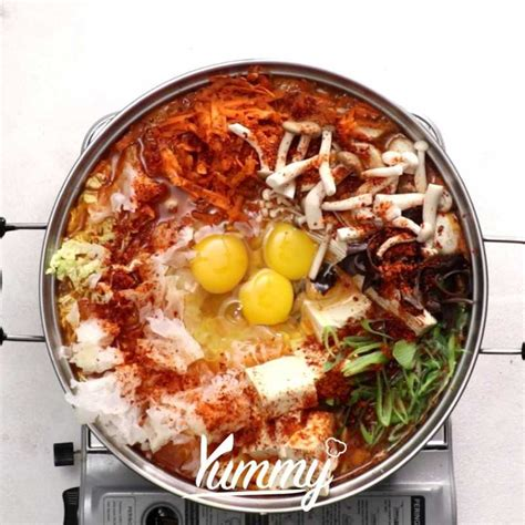 Appetizer salad masakan utama resep sup minuman. Resep Masakan Sup Sayur Korea dari Chef Yummy   Yummy.co.id