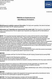 R Stahl Hmi Systems Gc667032 Trex Device Communicator User