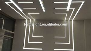 Recessed led profiles for wall lightigng aluminum