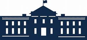 Clipart - Whitehouse Silhouette