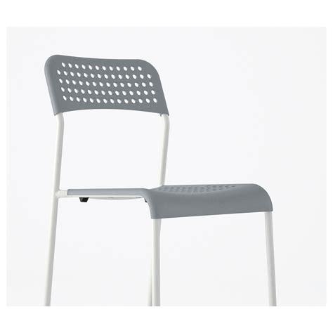adde chair grey white ikea