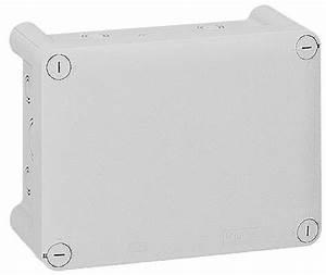 Boite De Derivation Electrique : bte rect 155x110x74 tanche plexo gris entr e d fon 20 ~ Dailycaller-alerts.com Idées de Décoration