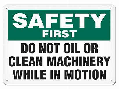Oil Safety Machinery Osha Motion Clean While
