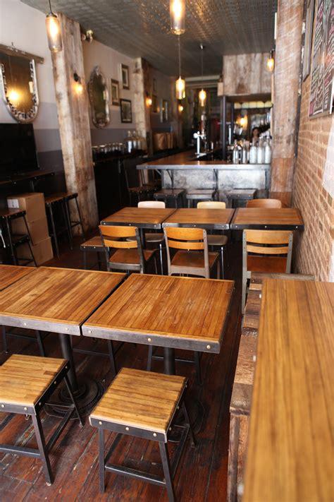 bar stools tables  chairs  black tree restaurant
