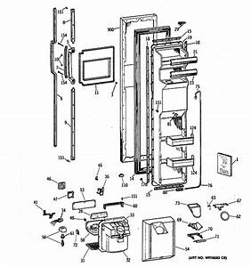 Ge Msx27drxdaa Refrigerator Parts And Accessories At