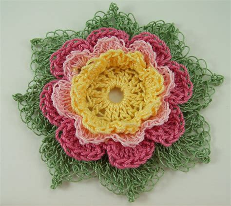 10 Adorable Crochet Flowers  Beautiful Crochet Stuff