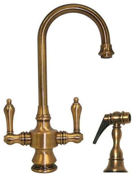 antique brass kitchen faucet vintage faucet antique brass rustic kitchen faucets