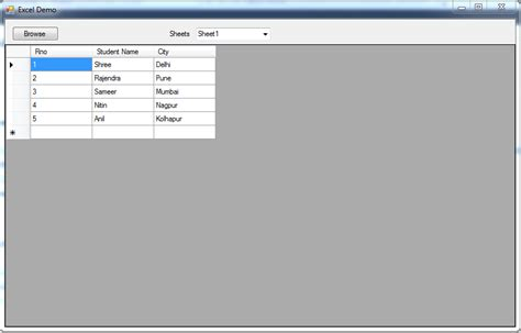 Jquery Form File Upload Exle by Get All Sheets From Excel And Fill Data Of Selected Excel