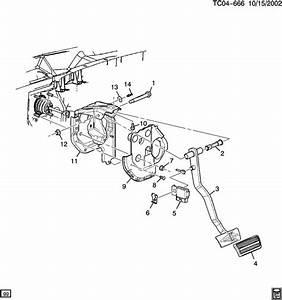 Chevrolet Silverado 2500 Pad  Brake  Clutch Pedal  Pad  Brk
