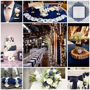 Deco Mariage Bleu Marine : mon mariage couleur bleu marine ~ Teatrodelosmanantiales.com Idées de Décoration