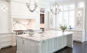 A large selection of Calacatta Extra white marble required ...