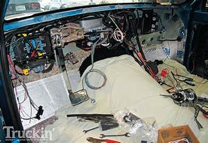 1967 Chevy C10 Buildup - Isis Three Cell Wiring Harness