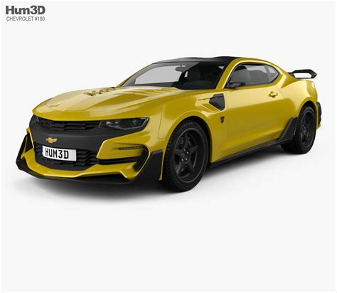 Chevrolet Model by Chevrolet Camaro Bumblebee 2017 3d Model Vehicles On Hum3d