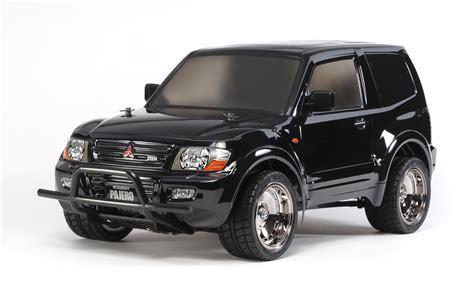 Due to the name pajero roughly translating to wanker in spanish. Tamiya T58627 1/10 RC Mitsubishi Pajero Lowrider Black CC-01