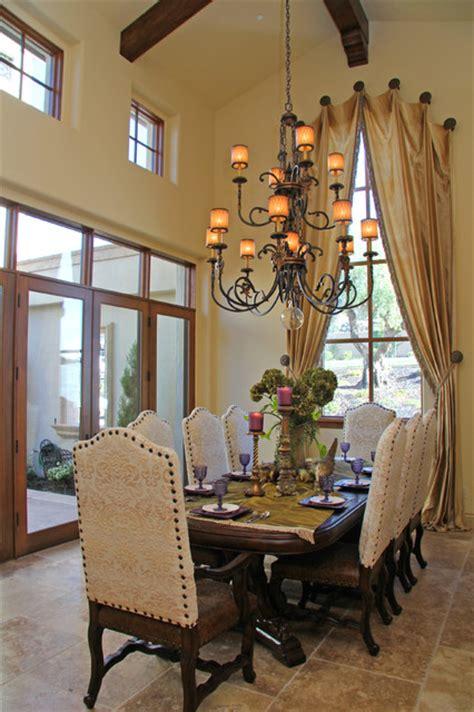berkwood residential mediterranean dining room sacramento  murray duncan architects