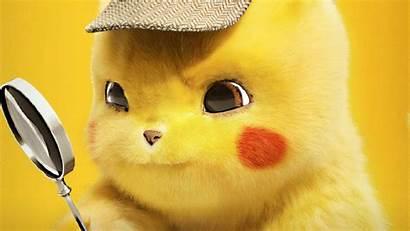 Pikachu 4k Detective Pokemon Wallpapers Desktop Movies