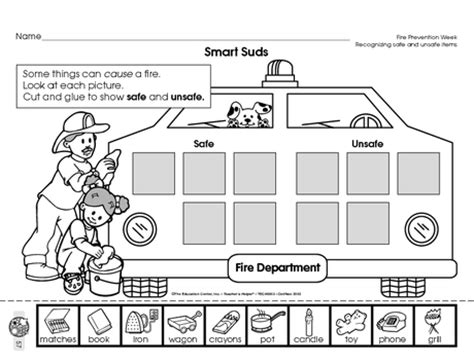 fire safety worksheets for preschoolers safety worksheets for kindergarten 1000 images 226