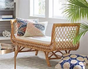 meubles en rotin pour un salon naturel et contemporain With deco cuisine pour meuble rotin