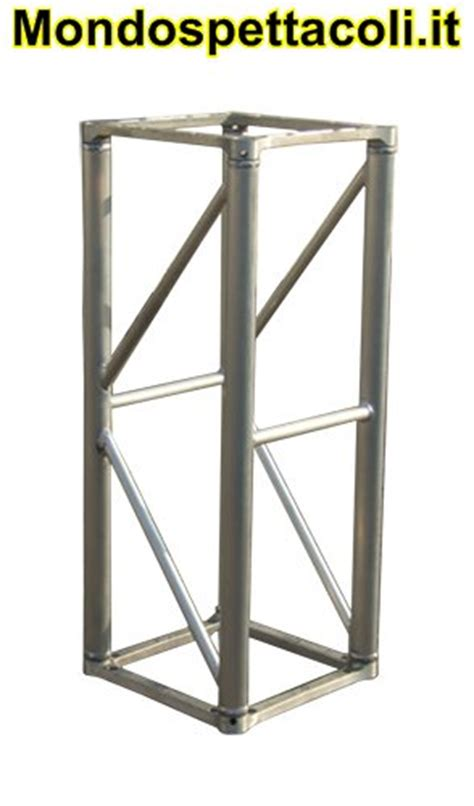 Tralicci Alluminio Usati - s40 traliccio in alluminio sezione quadrata da 40cm l