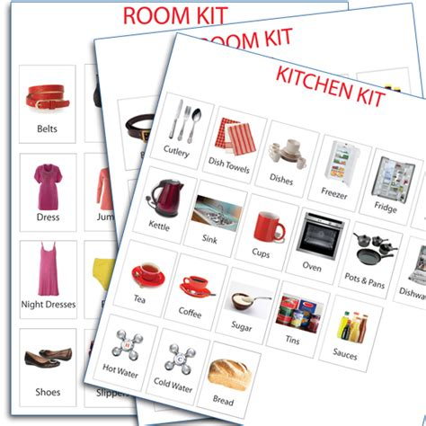 Kitchen Organization For Elderly by Home Pack Of Dementia Labels Recogneyes Care Home And