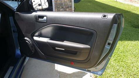 ford mustang door panel inserts kit   lmrcom