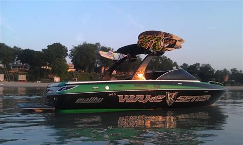 Boat Lights Colorado by 2008 Malibu Wakesetter Vlx Green Black Stereo