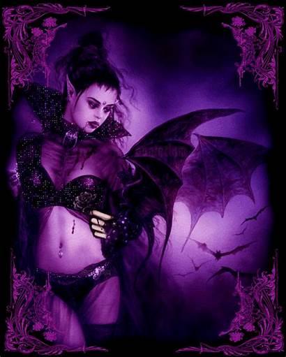 Vampire Gothic Fantasy Fairy Glitter Animated Fairies