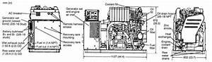 Cummins Onan Mdkdp 17 Kw Marine Generator