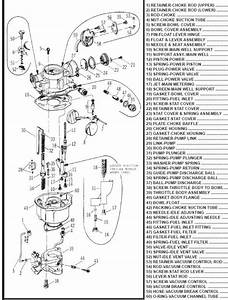 Engine  Rochester B Exploded View
