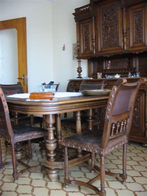 tavoli e sedie sala da pranzo vendo sala da pranzo d epoca completa riccamente intagliata