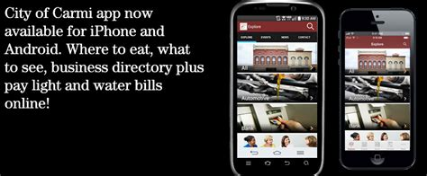 Carmi Light And Water city of carmi app now available for iphone and android