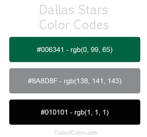 dallas colors dallas colors hex and rgb color codes