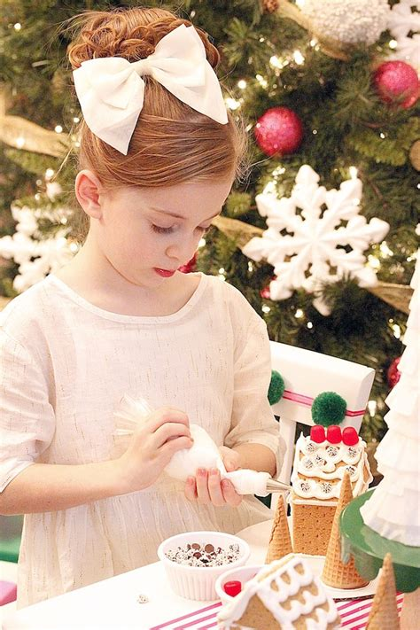 karas party ideas gingerbread house decorating party