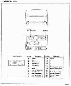 Hyundai Stereo Wiring Harness