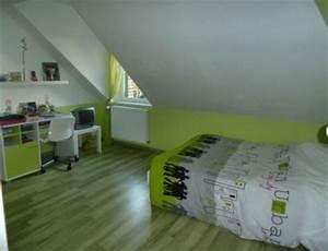deco chambre vert et gris a la mode With chambre grise et verte