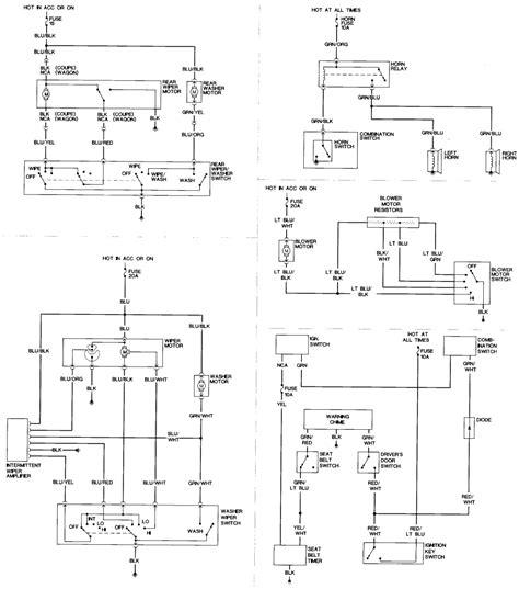 nissan pulsar wiring diagram n15 wiring library