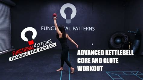 kettlebell core workout glute advanced