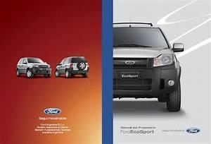Manual Del Propietario Ford Ecosport 2007 2008 2009 2010