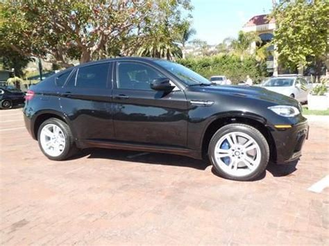 Find Used 2013 Bmw X6m Series /only 4052 Miles / Blk- Blk