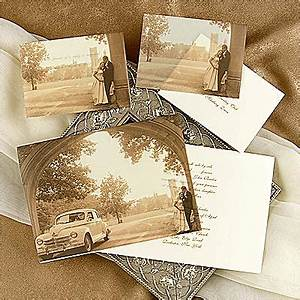 invitaciones vintage innovias With classic wedding invitations thermography