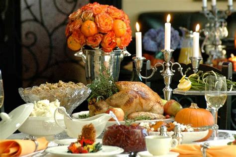 thanksgiving turkey dinner table 30 january 2013 motivation perspective and