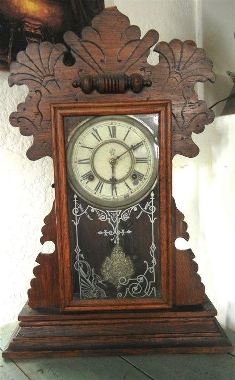 antique waterbury  mantle parlor kitchen gingerbread