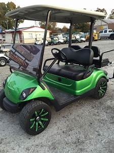 2009 Yamaha 48v Electric Golf Cart Custom Paint Wheels Etc  Newer Batteries