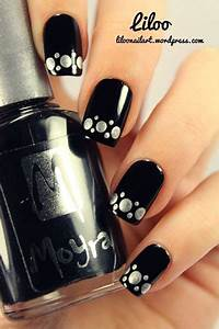 15 black silver gel nail designs ideas 2016